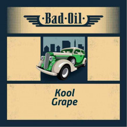 BAD OIL 2 Kool Grape Shake and Vape 50ML