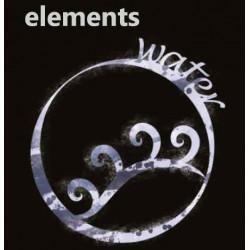Water Element - 50ml em Unicorn bottle 60ml - (Preparado para adicionar 10ml NicShot)