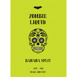 ZOMBIE LIQUID 50ML BANANA SPLIT