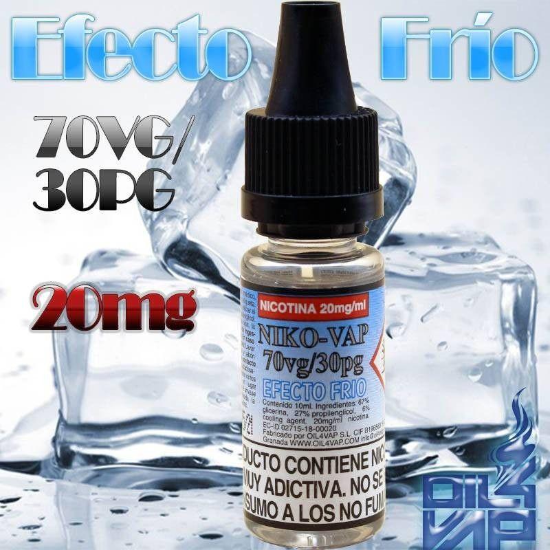 NIKO-VAP 50PG / 50VG (COLD EFFECT) - OIL4VAP